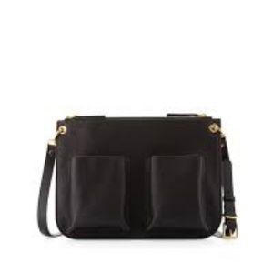 Marni bandolina double pocket crossbody bag
